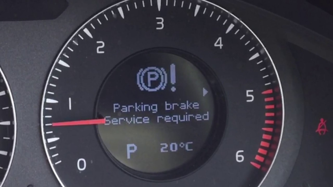 parking brake fault see owners manual vw passat