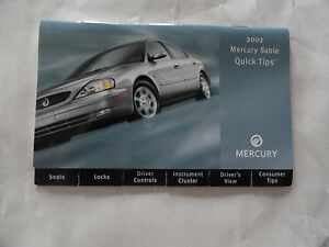 2002 mercury mountaineer owners manual free