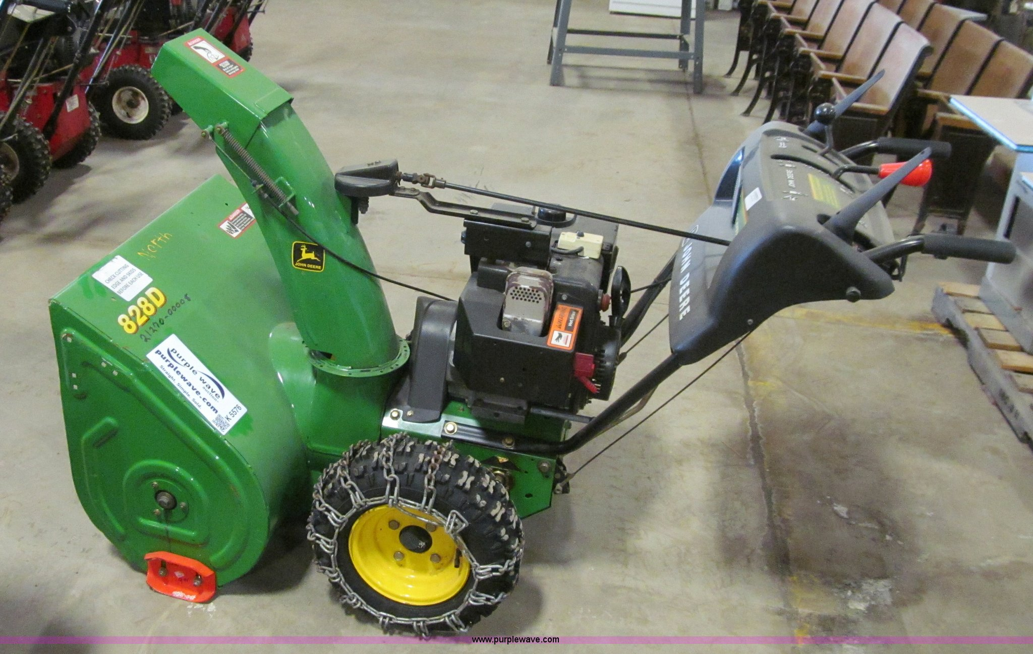 jonsered 24 305cc 2 stage snow thrower manual