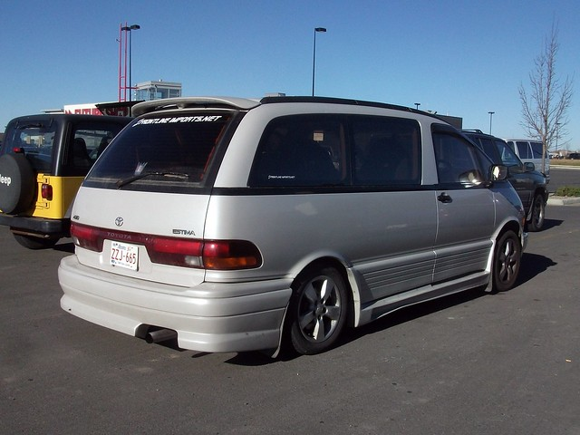 1993 toyota previa owners manual